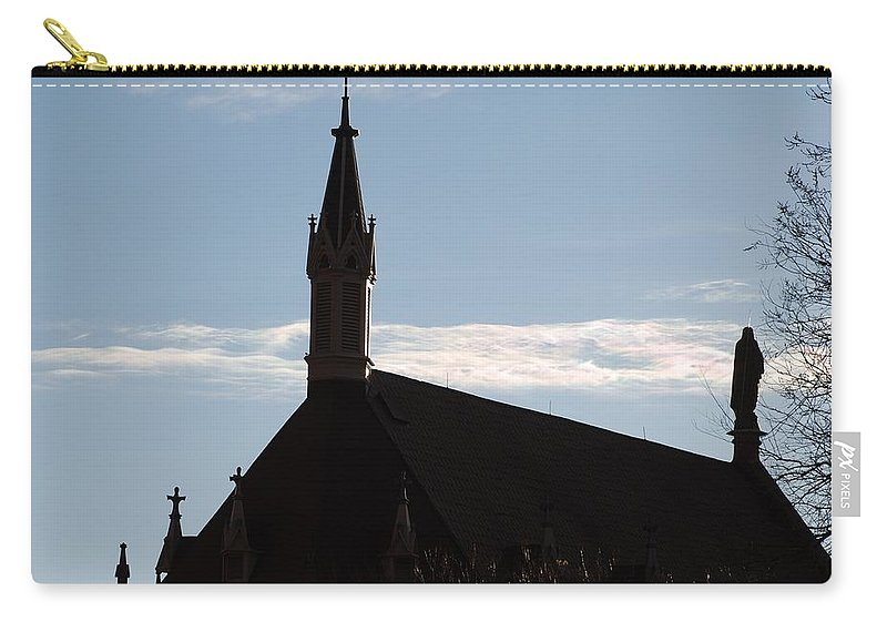 Church Carry-all Pouch featuring the photograph New Mexican Church by Rob Hans