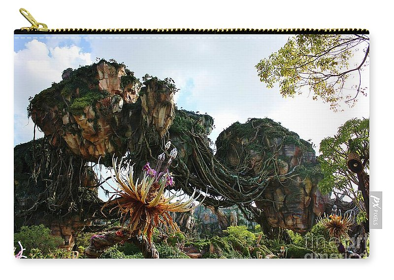 Animal Kingdom Carry-all Pouch featuring the photograph New World Of Pandora 1 by Mesa Teresita