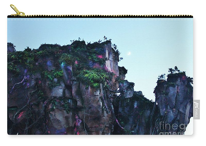 Animal Kingdom Carry-all Pouch featuring the photograph New World Of Pandora 3 by Mesa Teresita