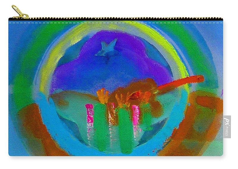 Love Carry-all Pouch featuring the painting New World Spring by Charles Stuart