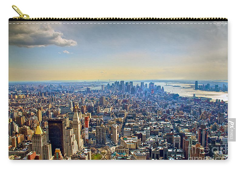 Nyc Carry-all Pouch featuring the photograph New York City - Manhattan by Mark Dodd