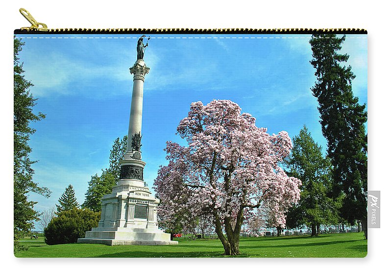 Civil War Carry-all Pouch featuring the photograph New York by Jen Goellnitz