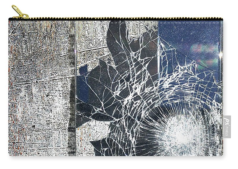 New York City Carry-all Pouch featuring the mixed media New York by Tony Rubino