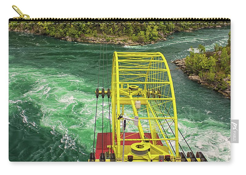 Niagara Falls Carry-all Pouch featuring the photograph Niagara Cable Car by Martin Newman