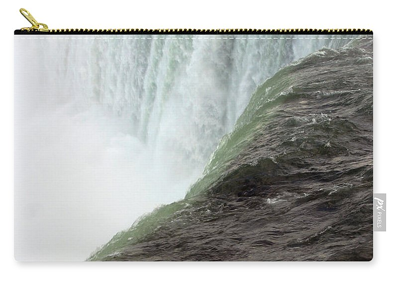Niagara Falls Carry-all Pouch featuring the photograph Niagara Falls 1 by Anthony Jones