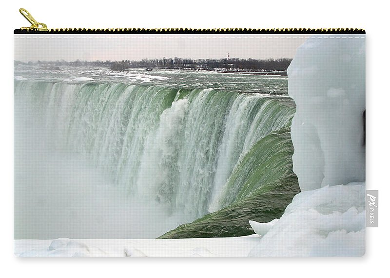Niagara Falls Carry-all Pouch featuring the photograph Niagara Falls 2 by Anthony Jones
