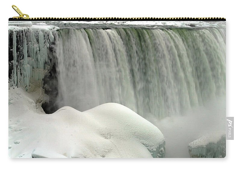 Landscape Carry-all Pouch featuring the photograph Niagara Falls 3 by Anthony Jones