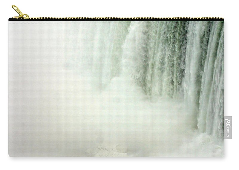 Landscape Carry-all Pouch featuring the photograph Niagara Falls 4 by Anthony Jones