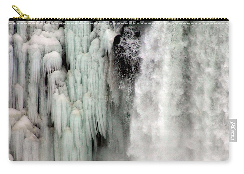 Landscape Carry-all Pouch featuring the photograph Niagara Falls 5 by Anthony Jones