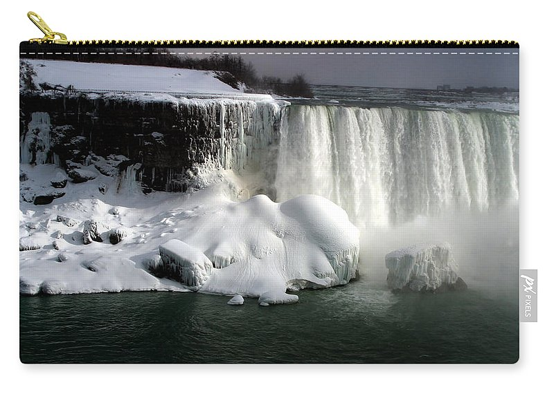 Landscape Carry-all Pouch featuring the photograph Niagara Falls 6 by Anthony Jones