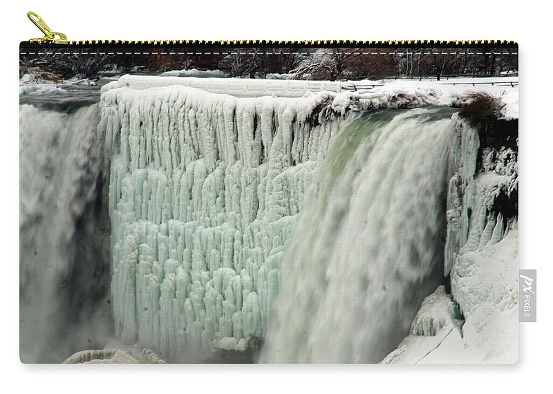 Landscape Carry-all Pouch featuring the photograph Niagara Falls 7 by Anthony Jones