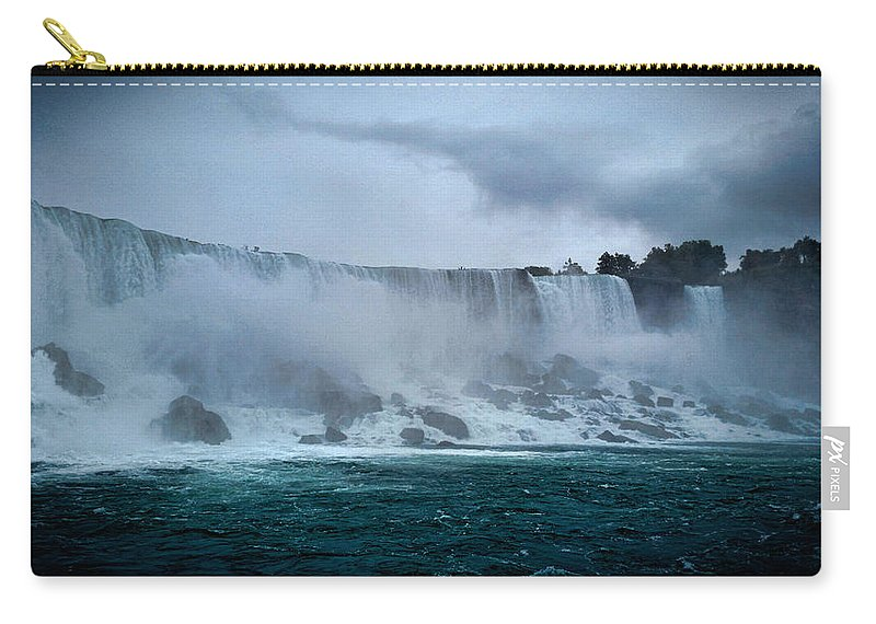 Niagara Falls Carry-all Pouch featuring the photograph Niagara Falls Canada by Martin Newman