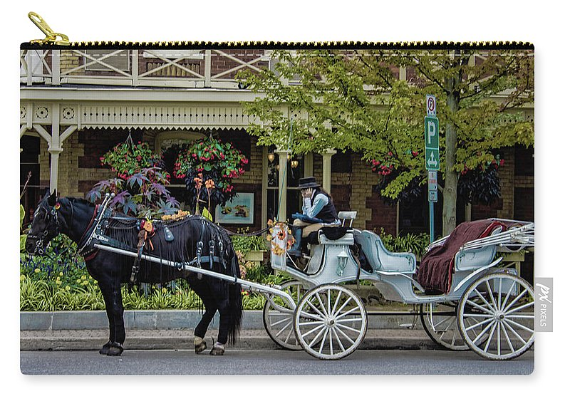 Canada Carry-all Pouch featuring the photograph Niagara On The Lake by Martin Newman