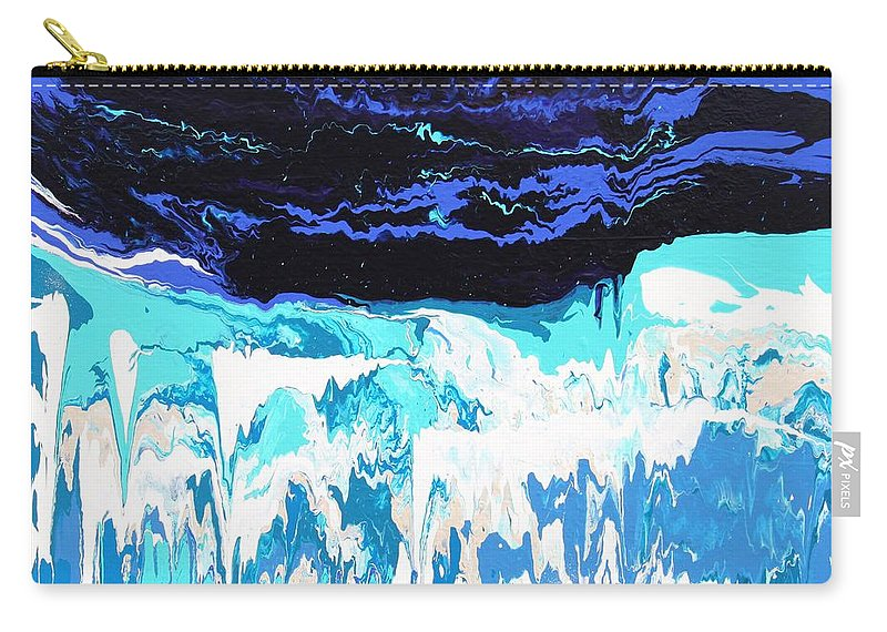 Fusionart Carry-all Pouch featuring the painting Niagara by Ralph White