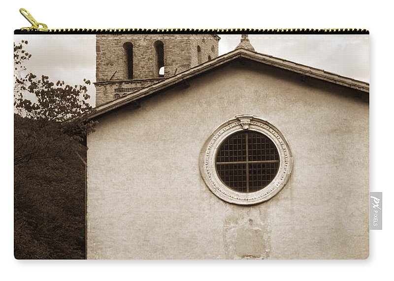Curch Carry-all Pouch featuring the photograph Nice Old Church For Wedding by Marilyn Hunt