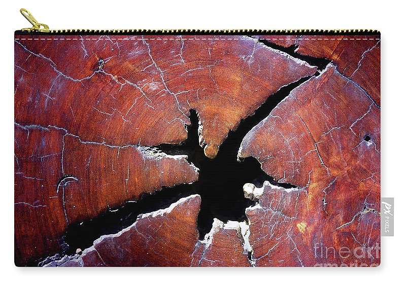Wood Carry-all Pouch featuring the photograph Niche by Stephen Mitchell