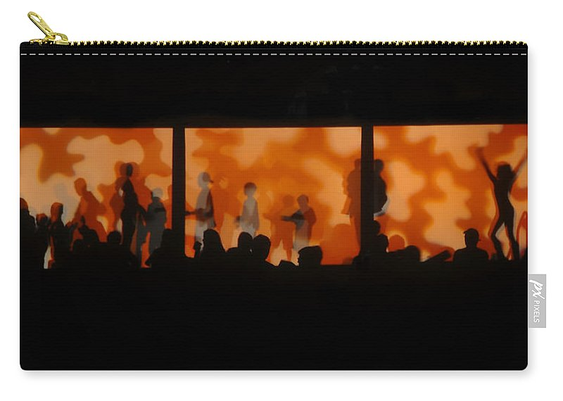Dancing Carry-all Pouch featuring the photograph Night Dance by David Lee Thompson