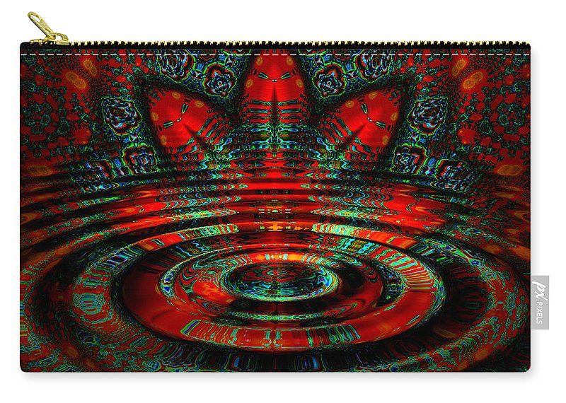 Ripple Carry-all Pouch featuring the digital art Night Moves by Robert Orinski