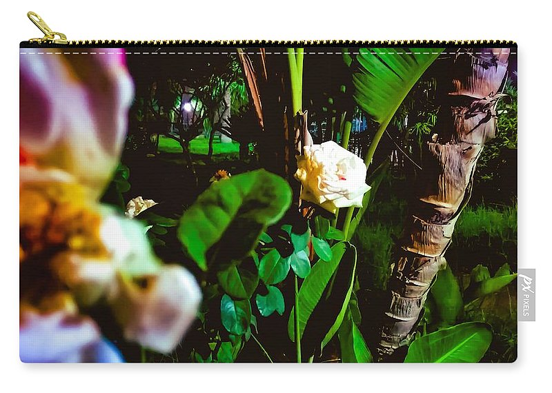 Carry-all Pouch featuring the pyrography Night Time by Eliass Lavey