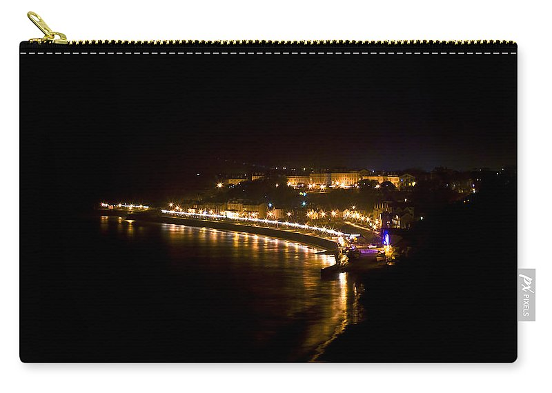 Night Carry-all Pouch featuring the photograph Night Town by Svetlana Sewell