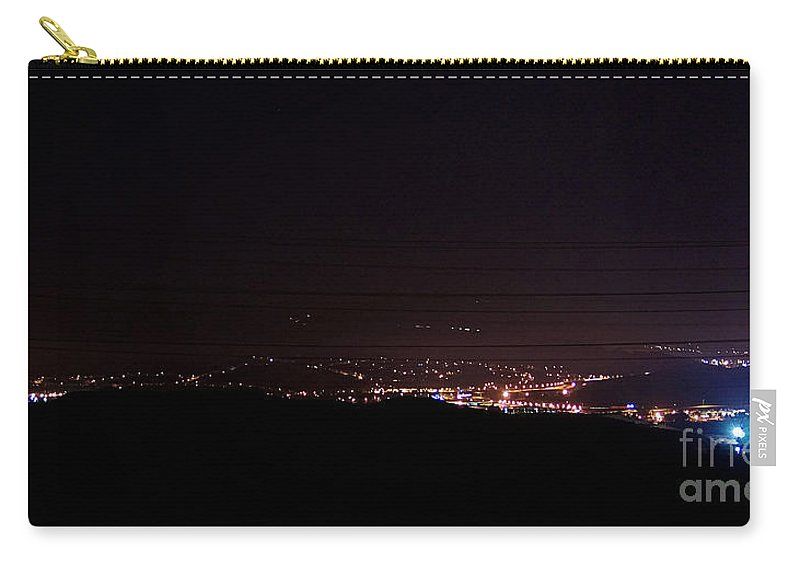 Clay Carry-all Pouch featuring the photograph Nights In The Valley by Clayton Bruster