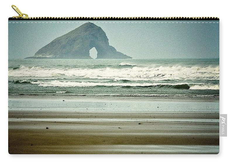 Matapia Island Carry-all Pouch featuring the photograph Matapia Island by Dave Bowman