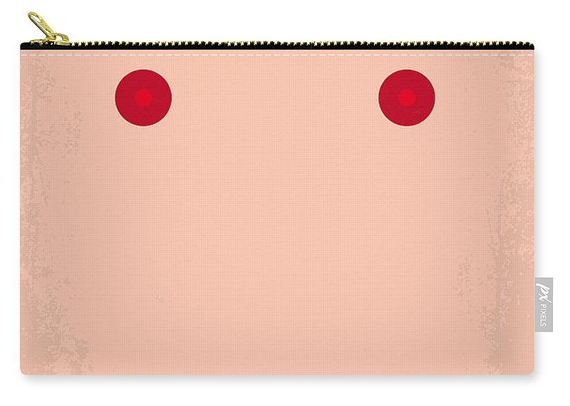 Showgirls Carry-all Pouch featuring the digital art No076 My Showgirls Minimal Movie Poster by Chungkong Art