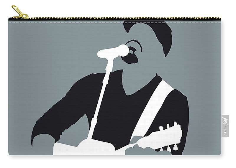 Hootie Carry-all Pouch featuring the digital art No177 My Hootie And The Blowfish Minimal Music by Chungkong Art