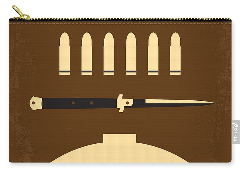Rebel Carry-all Pouch featuring the digital art No318 My Rebel Without A Cause Minimal Movie Poster by Chungkong Art