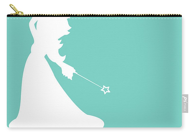 Mario Carry-all Pouch featuring the digital art No39 My Minimal Color Code poster Rosalina by Chungkong Art
