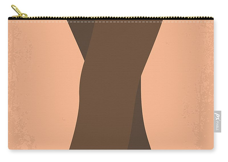 The Carry-all Pouch featuring the photograph No438 My The Girlfriend Experience Minimal Movie Poster by Chungkong Art