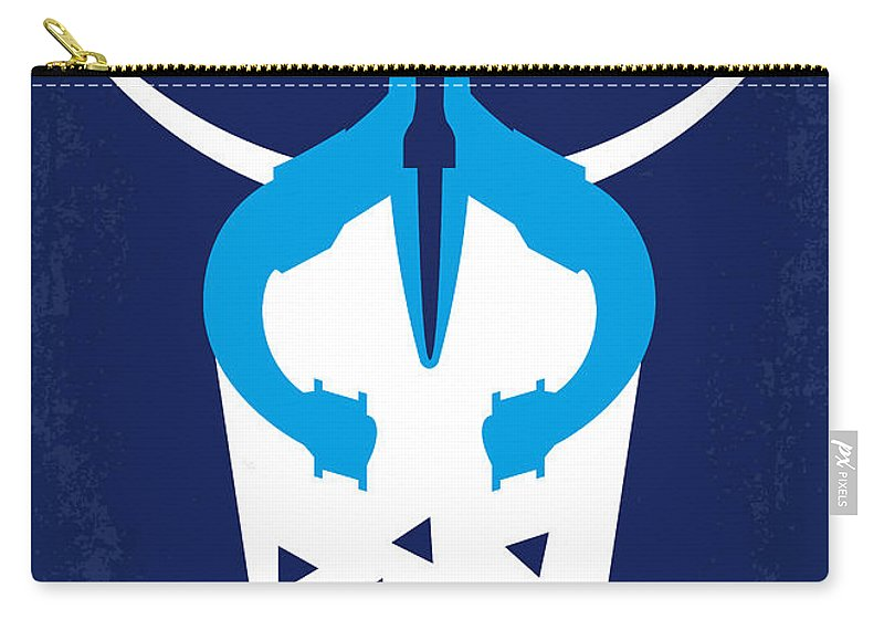 Galaxy Carry-all Pouch featuring the digital art No551 My Galaxy Quest Minimal Movie Poster by Chungkong Art