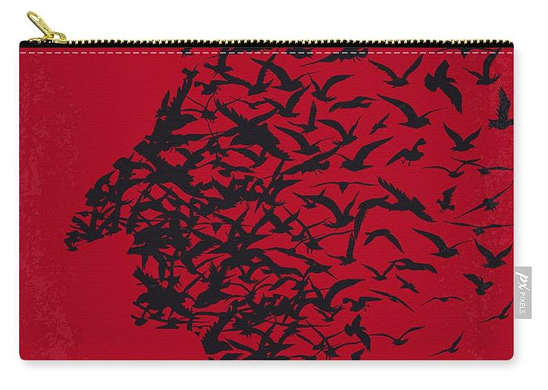 Birdman Carry-all Pouch featuring the digital art No604 My Birdman Minimal Movie Poster by Chungkong Art