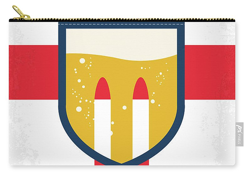 Grimsby Carry-all Pouch featuring the digital art No741 My Grimsby Minimal Movie Poster by Chungkong Art