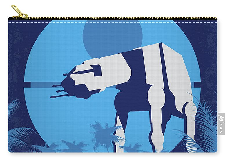 Rogue Carry-all Pouch featuring the digital art No819 My Rogue One Minimal Movie Poster by Chungkong Art