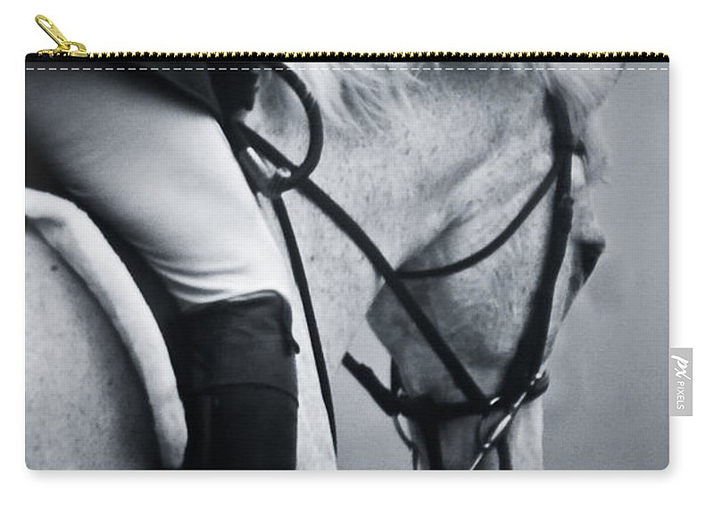 Horse Carry-all Pouch featuring the photograph Nobility by Hannah Breidenbach