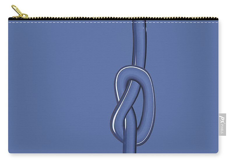 Knot Carry-all Pouch featuring the photograph Node On The Water by Michal Boubin