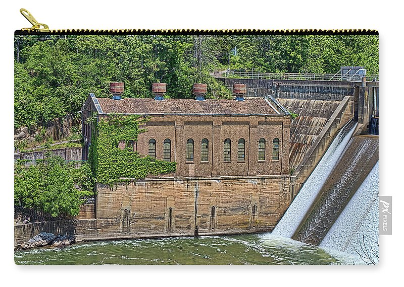 Nolichucky Carry-all Pouch featuring the photograph Nolichucky by Joe Moore