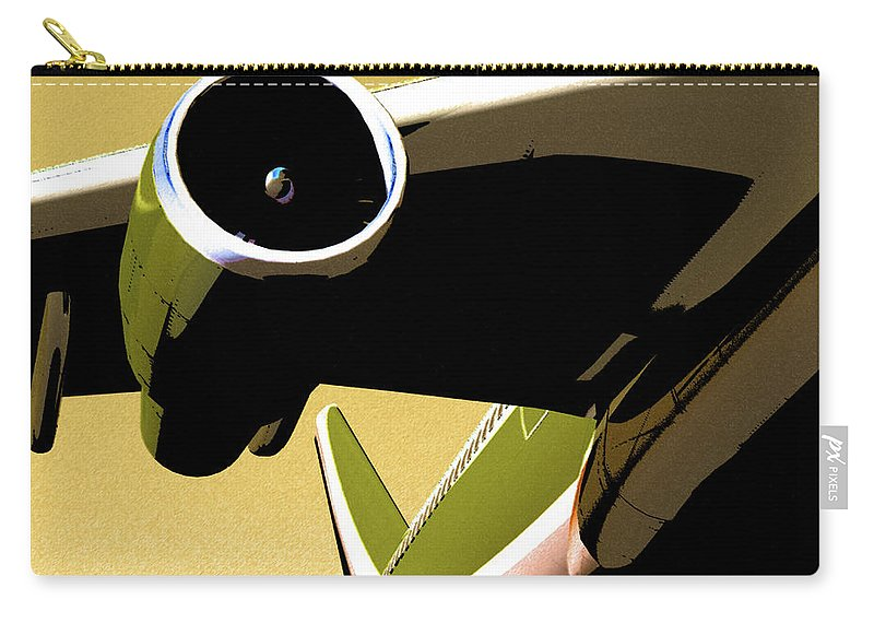 Abstract Carry-all Pouch featuring the digital art Non Stop by Richard Rizzo