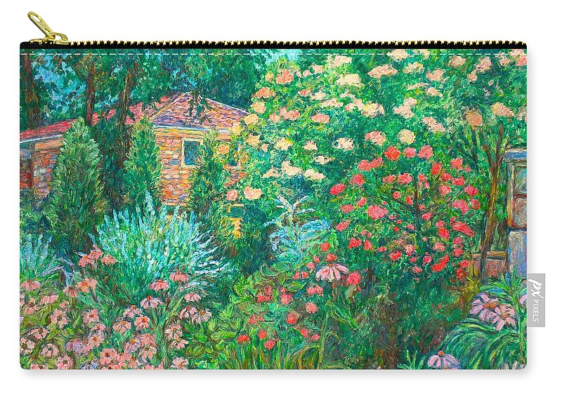 Garden Carry-all Pouch featuring the painting North Albemarle In Mclean Va by Kendall Kessler