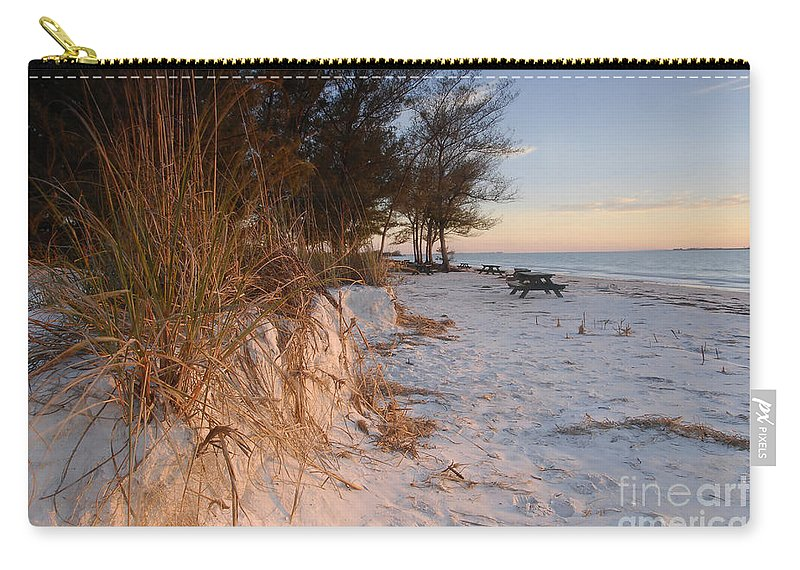 North Beach Carry-all Pouch featuring the photograph North Beach by David Lee Thompson