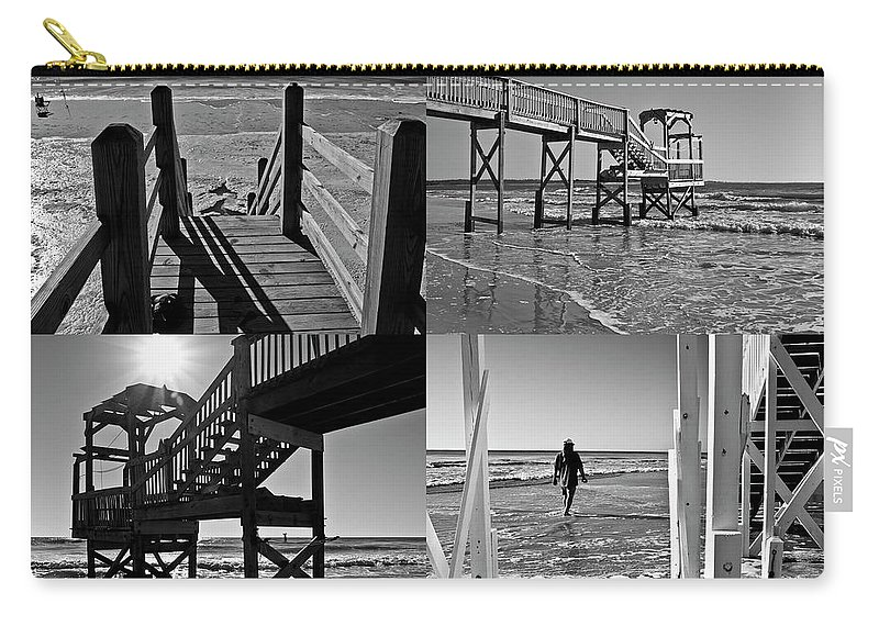 Beach Carry-all Pouch featuring the photograph North End Moments by Betsy Knapp