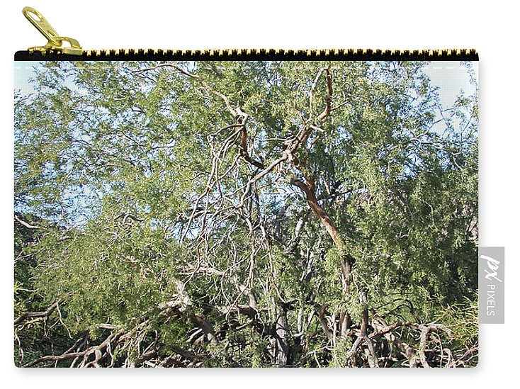 Phoenix North Mountain Carry-all Pouch featuring the photograph North Mountain4 by George Arthur Lareau