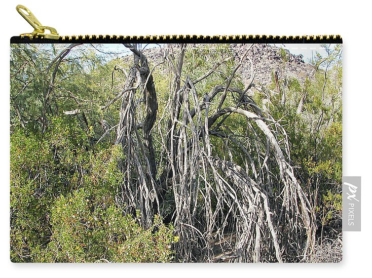 Phoenix North Mountain Carry-all Pouch featuring the photograph North Mountain7 by George Arthur Lareau