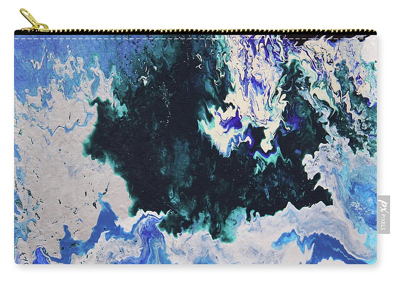 Fusionart Carry-all Pouch featuring the painting North Shore by Ralph White