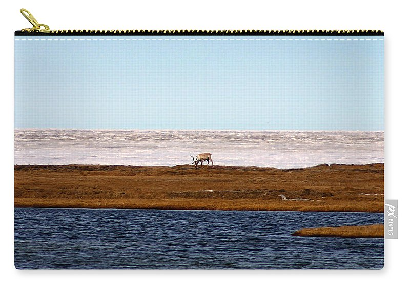 Arctic Carry-all Pouch featuring the photograph North Slope by Anthony Jones