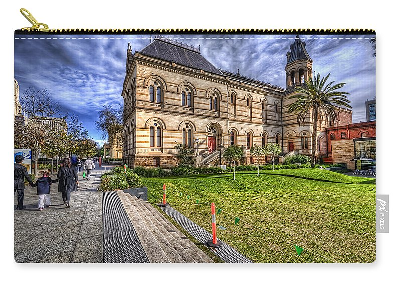 City Carry-all Pouch featuring the photograph North Terrace by Wayne Sherriff