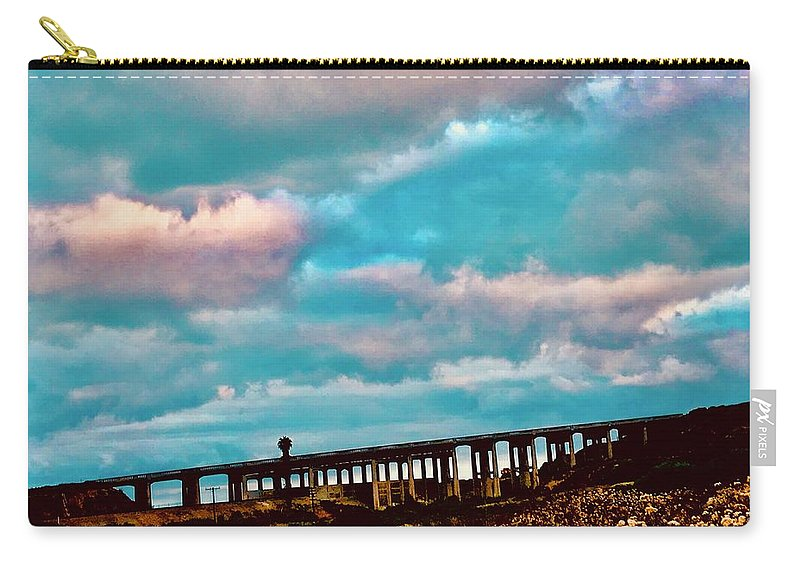 Bridge Carry-all Pouch featuring the photograph North Torrey Bridge by Kevin Brennan and Brett Hanavan