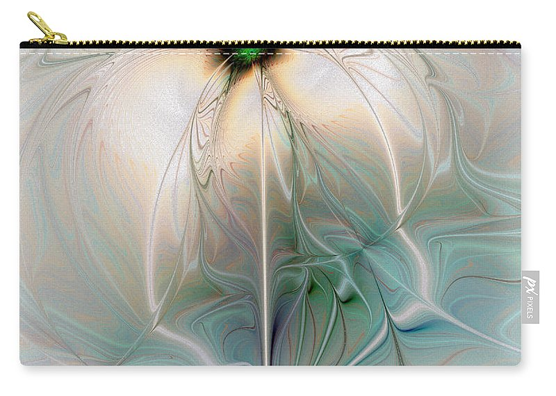 Digital Art Carry-all Pouch featuring the digital art Nostalgia by Amanda Moore