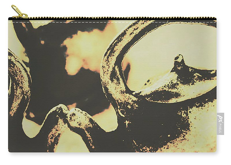 Antique Carry-all Pouch featuring the photograph Nostalgic Tea Break by Jorgo Photography - Wall Art Gallery